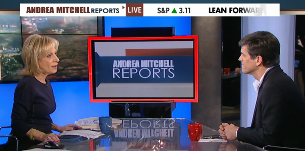 Tim on Andrea Mitchell